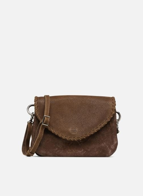 Handtaschen Mila Louise 3272CR-47 braun detaillierte ansicht/modell