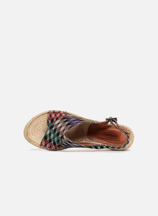 Espadrilles Missoni MS3073.046 Multicolore vue gauche