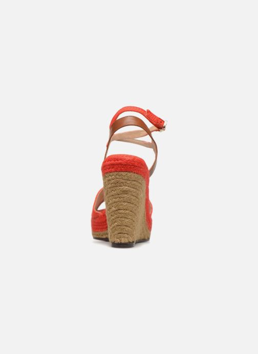 Espadrilles Castaner ADELA Red view from the right
