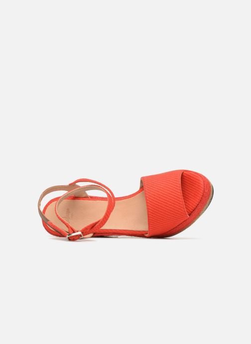 Espadrilles Castaner ADELA Red view from the left