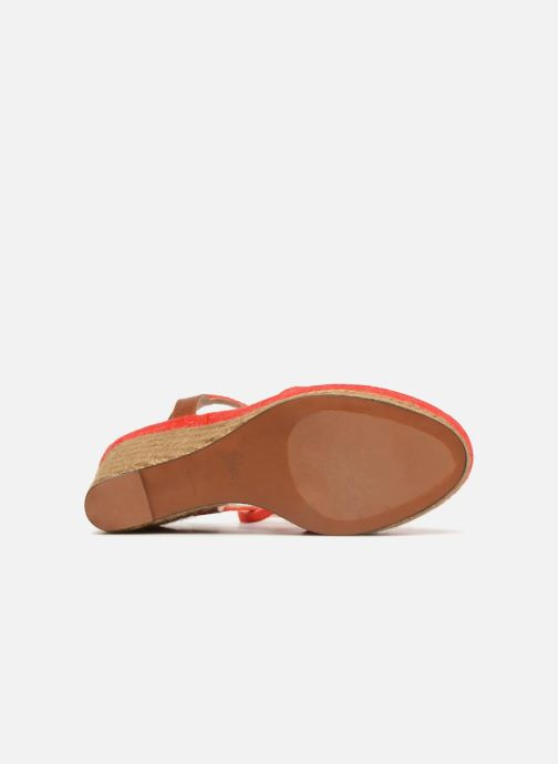 Espadrilles Castaner ADELA Red view from above