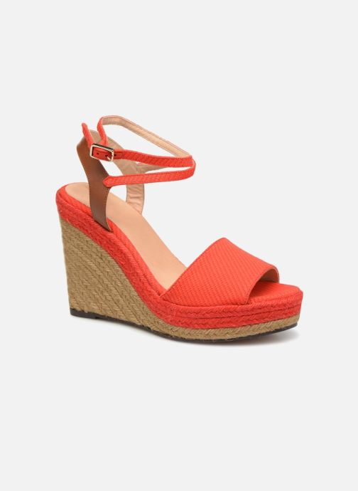 Espadrilles Castaner ADELA Red detailed view/ Pair view