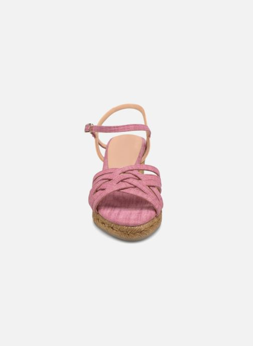 Espadrilles Castaner BETSY Rose vue portées chaussures