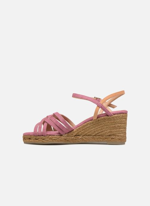 Espadrilles Castaner BETSY Pink front view