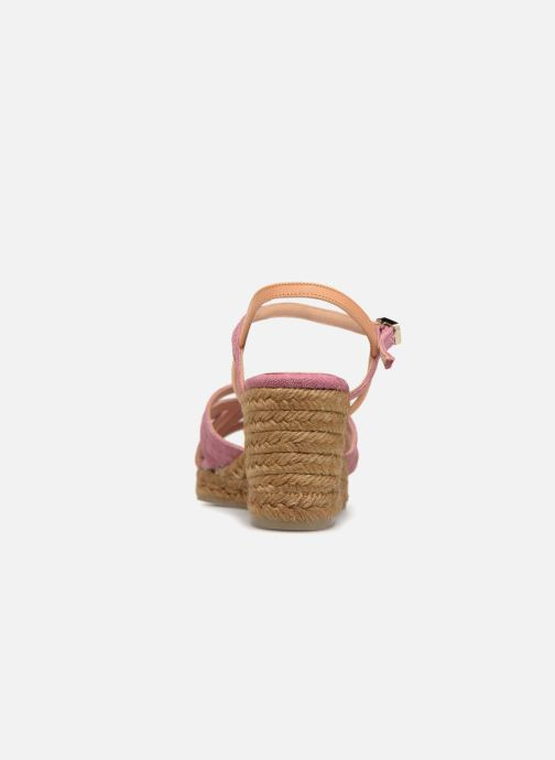 Espadrilles Castaner BETSY Pink view from the right