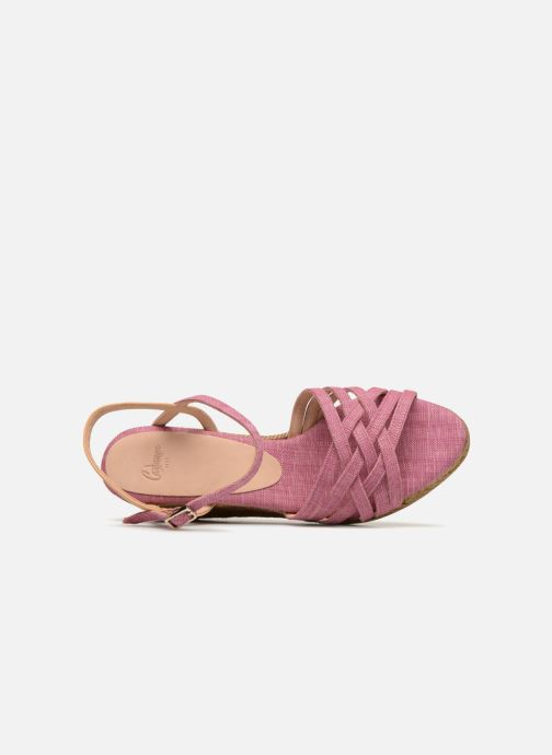 Espadrilles Castaner BETSY Pink view from the left