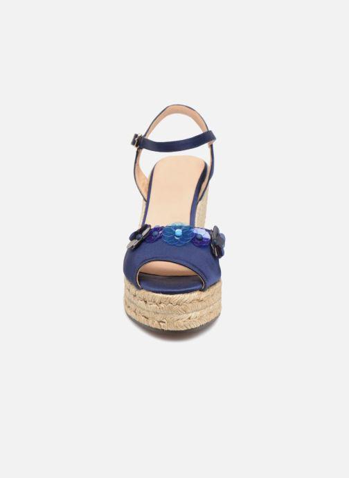 Espadrilles Castaner BESO Bleu vue portées chaussures