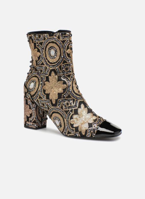 Boots en enkellaarsjes MySuelly Louis Zwart detail