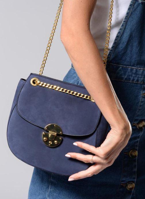 Bolsos de mano MySuelly Amy Chaine Azul vista de arriba