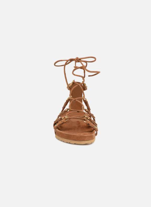 Sandali e scarpe aperte Swildens QOOK Marrone modello indossato