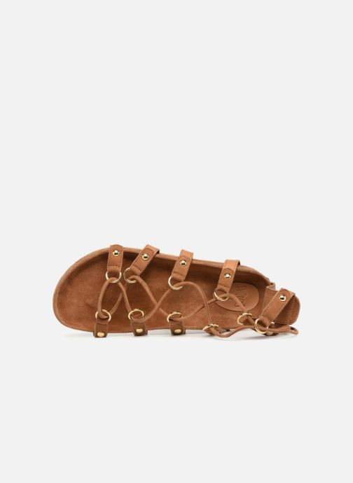Sandali e scarpe aperte Swildens QOOK Marrone immagine sinistra