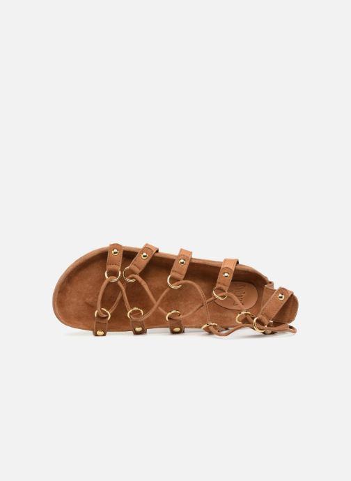 Nu Et Swildens 004beige pieds beige Sandales Qook WHeDbEIY29