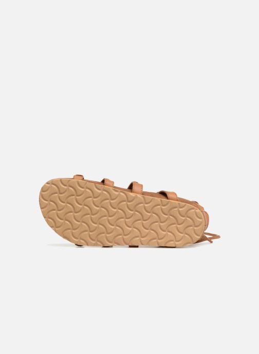 Swildens QOOK (Marron) - Sandales et nu-pieds  Marron (004Beige/beige)