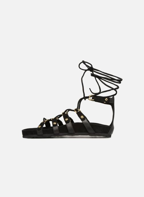 Sandalen Swildens QOOK schwarz ansicht von vorne