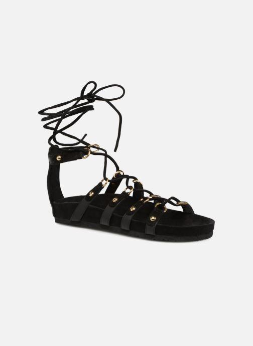 Sandalen Swildens QOOK schwarz detaillierte ansicht/modell