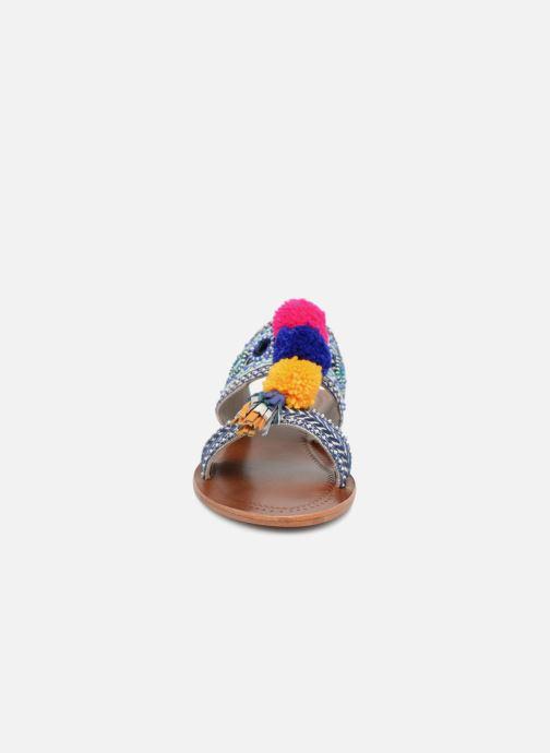 Mules et sabots Antik Batik KOSHI1SAN Multicolore vue portées chaussures