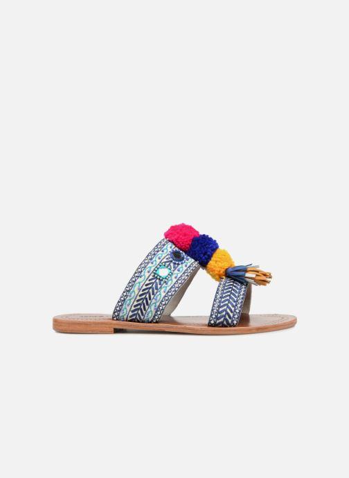 Zuecos Antik Batik KOSHI1SAN Multicolor vistra trasera