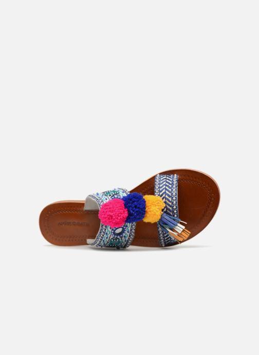 Koshi1san mehrfarbig Batik Pantoletten amp; Clogs 340944 Antik SaAwq5Ta