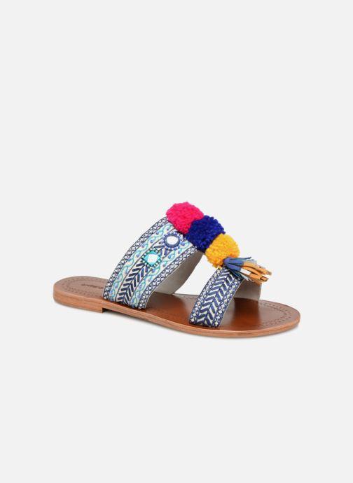 Antik Batik KOSHI1SAN (mehrfarbig) - Clogs & Pantoletten bei Más cómodo