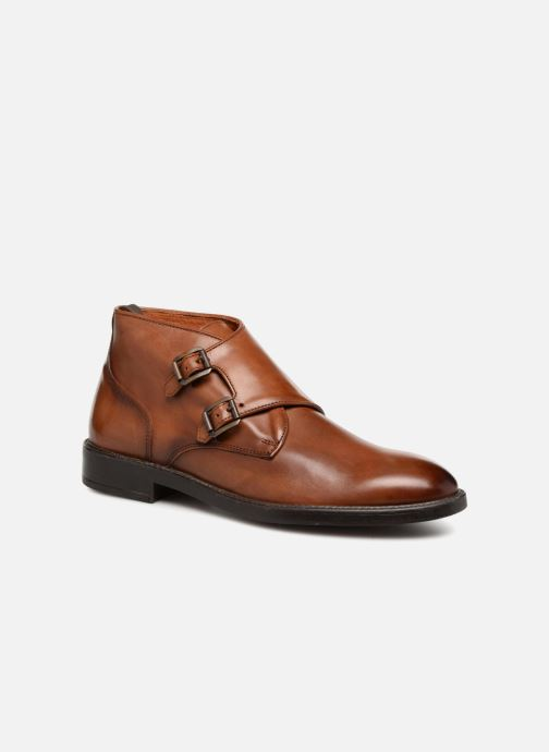 Ankelstøvler Marvin&Co Tenlyn Brun detaljeret billede af skoene