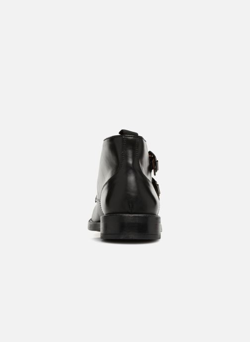Ankle boots Marvin&co Tenlyn Black view from the right