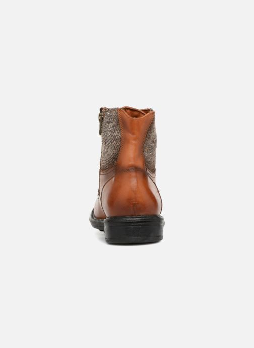 Ankle boots Marvin&co Taidline Brown view from the right