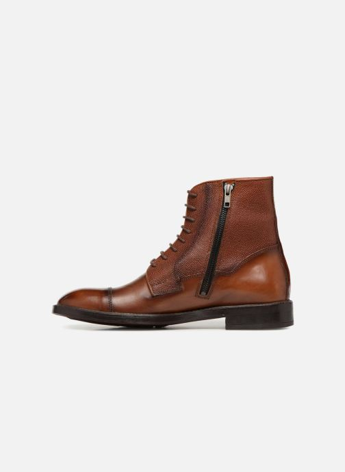 Ankle boots Marvin&co Tonlyne Brown front view