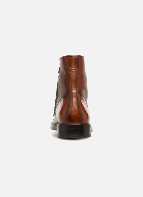 Ankle boots Marvin&co Tonlyne Brown view from the right