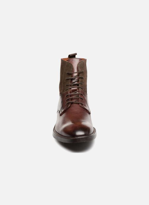 Bottines et boots Marvin&Co Tintown Marron vue portées chaussures