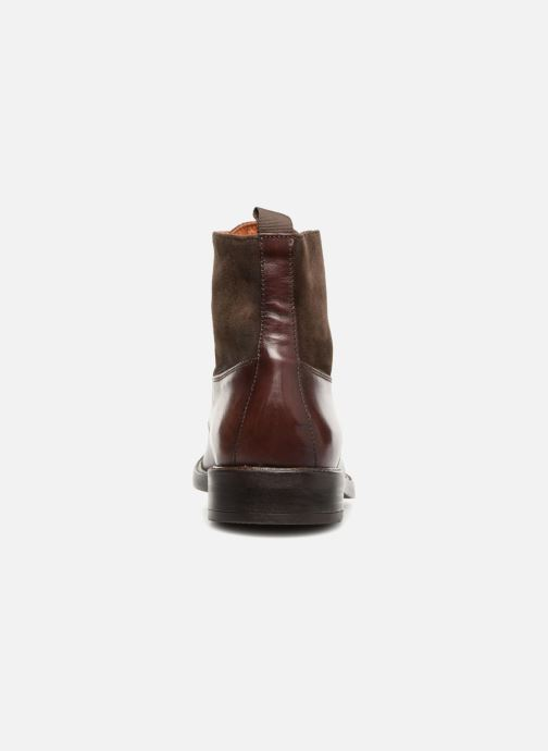 Ankle boots Marvin&co Tintown Brown view from the right