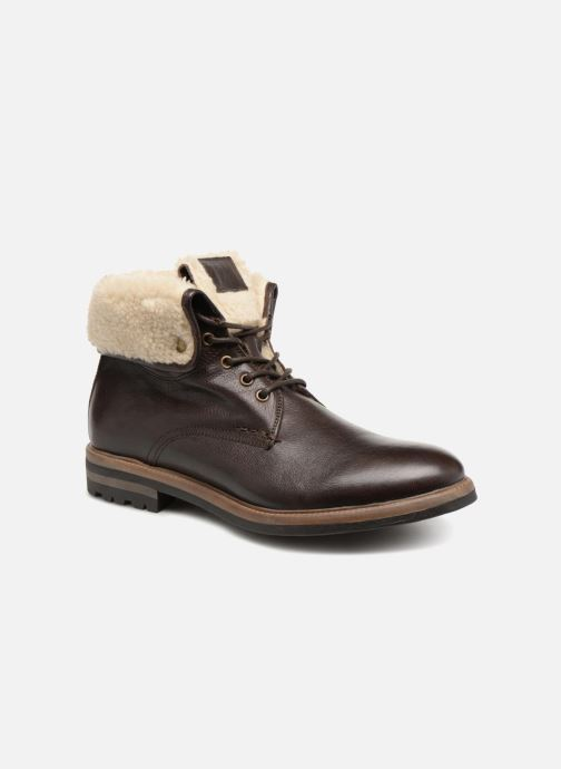 Bottines et boots Mr SARENZA Temoe Marron vue détail/paire