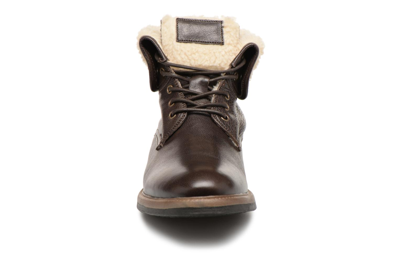 Bottines et boots Mr SARENZA Temoe Marron vue portées chaussures