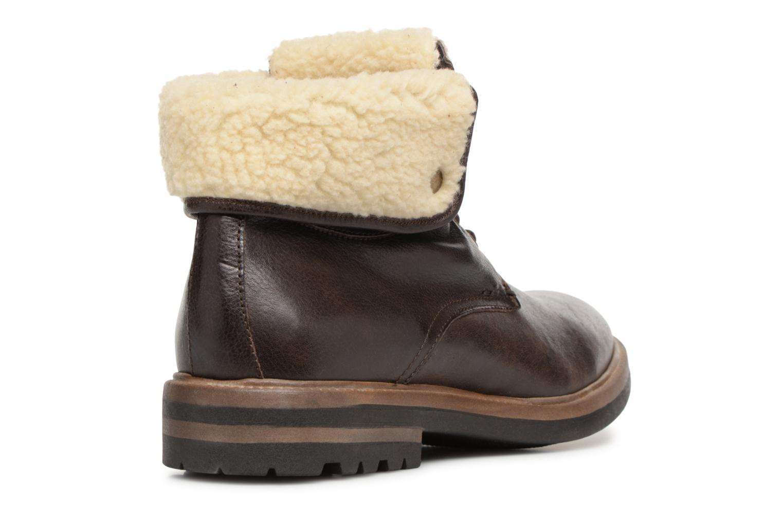 Bottines et boots Mr SARENZA Temoe Marron vue face