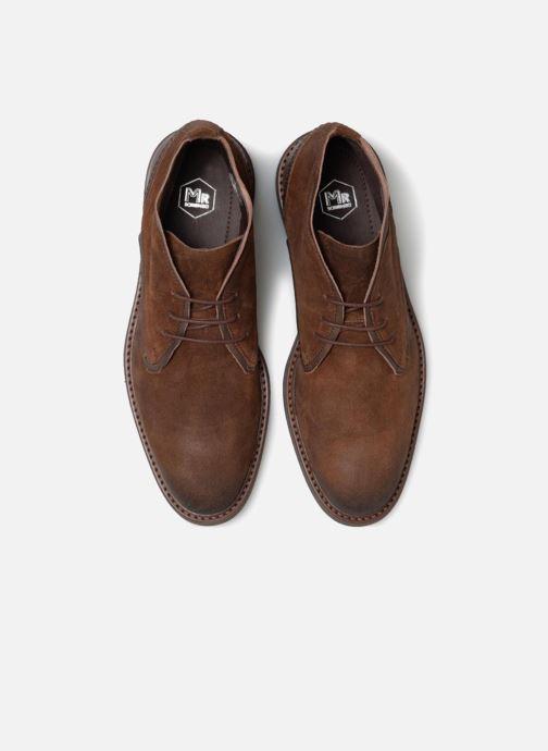 Bottines et boots Mr SARENZA Tibere Marron vue portées chaussures