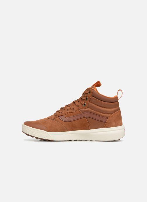 Sneakers Vans UltraRange Hi MTE Arancione immagine frontale