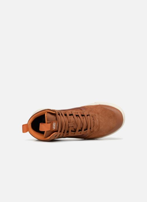 Sneaker Vans UltraRange Hi MTE orange ansicht von links