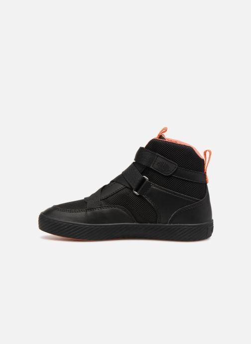 Sneaker Palladium Pallastreet Mid ST schwarz ansicht von vorne