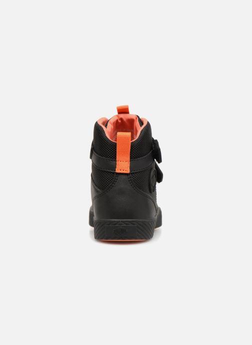 Sneaker Palladium Pallastreet Mid ST schwarz ansicht von rechts
