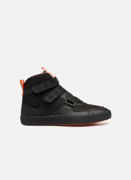 Sneaker Palladium Pallastreet Mid ST schwarz ansicht von hinten