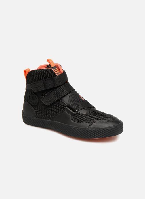 Sneaker Palladium Pallastreet Mid ST schwarz detaillierte ansicht/modell