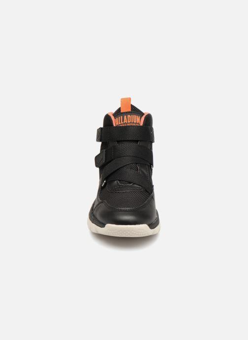 Baskets Palladium Pallaville Hi ST Noir vue portées chaussures