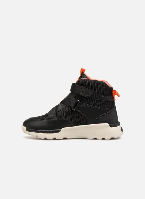Sneaker Palladium Pallaville Hi ST schwarz ansicht von vorne
