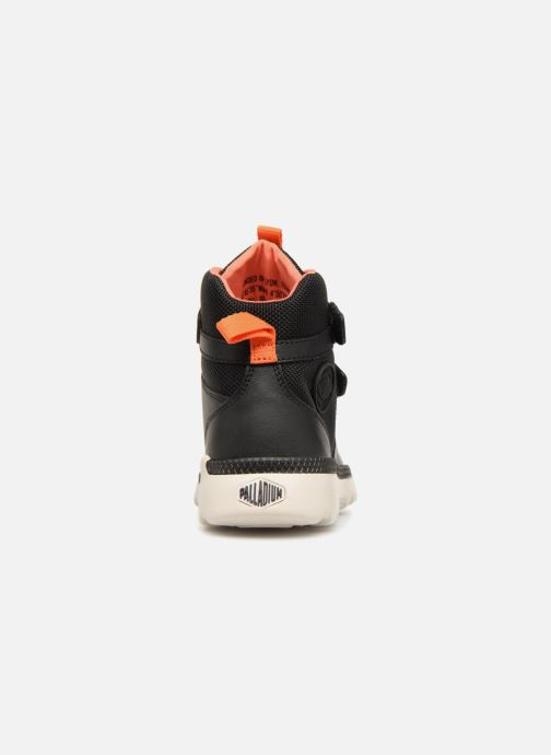 Sneaker Palladium Pallaville Hi ST schwarz ansicht von rechts
