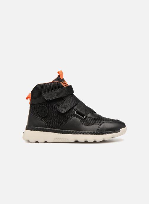 Sneaker Palladium Pallaville Hi ST schwarz ansicht von hinten