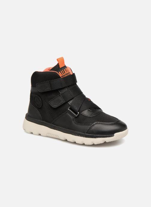 Sneaker Palladium Pallaville Hi ST schwarz detaillierte ansicht/modell