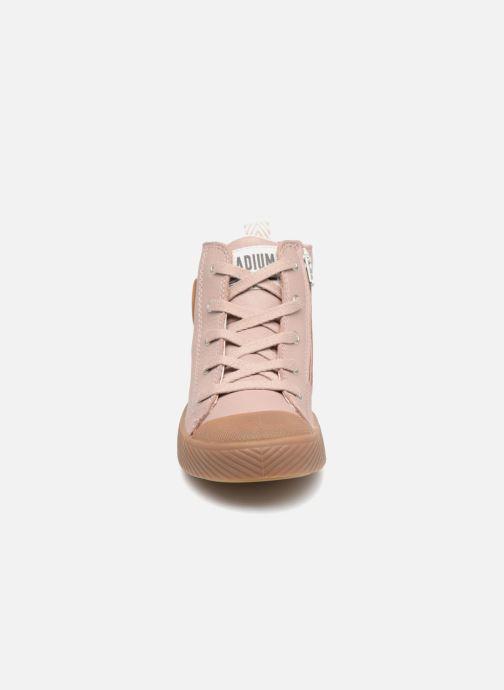Baskets Palladium Pallaphoenix Mid L Rose vue portées chaussures