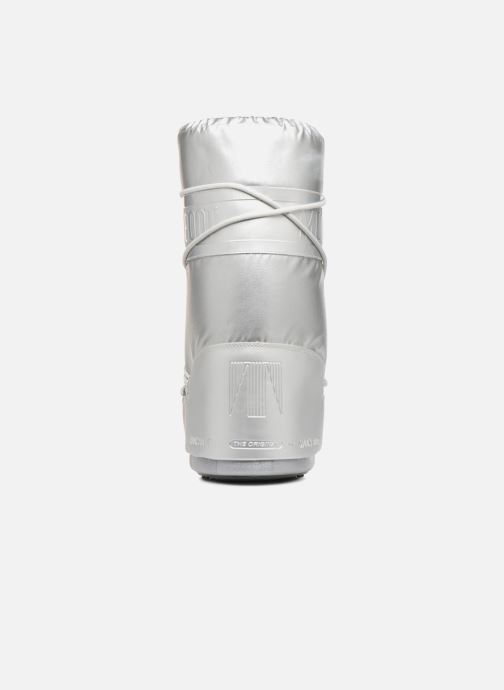 Chaussures de sport Moon Boot Classic Plus Met Argent vue droite