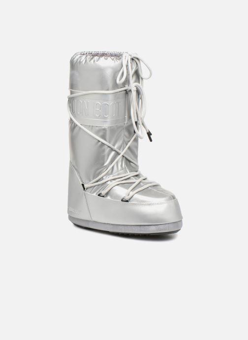 Chaussures de sport Moon Boot Classic Plus Met Argent vue détail/paire