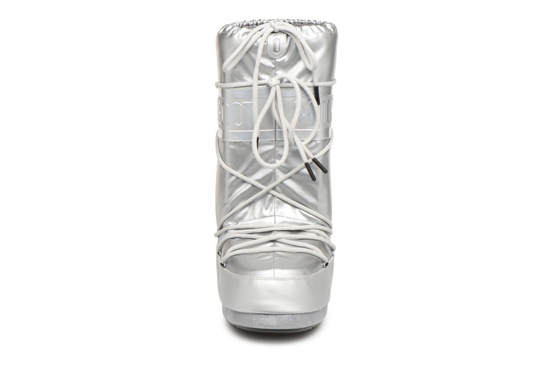 Chaussures de sport Moon Boot Classic Plus Met Argent vue portées chaussures