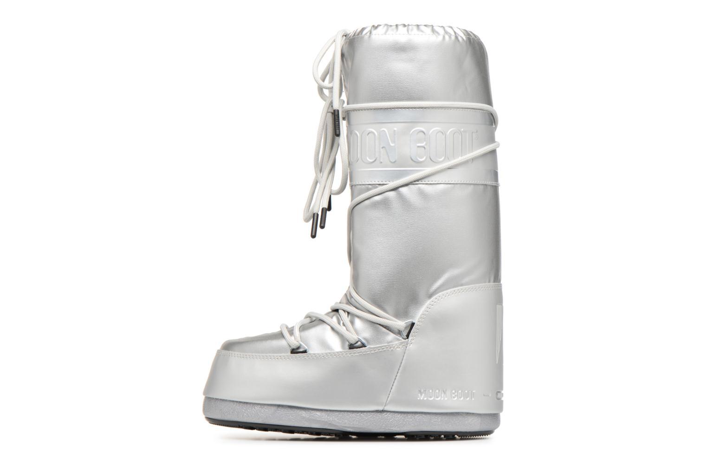 Chaussures de sport Moon Boot Classic Plus Met Argent vue face